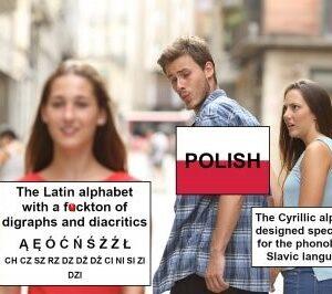 Short history of Polish alphabet